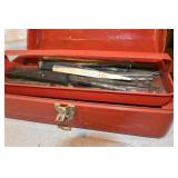 Tool Box, Punches & Chisels,