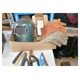 Welding Equipment, 2 stingers, ground,Helmet