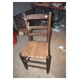 Vintage Kitchen Side Chair,Oak