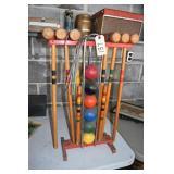 Croquet Set, Nice Vintage,Complete