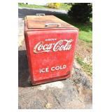 Coke Cooler,50s,Serial 67467