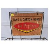 Dr. Pepper Rack & Sign,For Stacking Cases