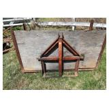3 Point Hitch, Wood Skid,