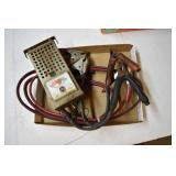 Peerless Battery Tester, Works, Jumper Cables