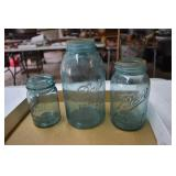 Vintage Jars, 1/2 has a one and three