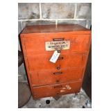 Dayco Belt Cabinet. Laminate wood