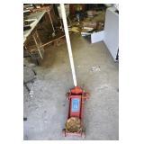 Floor Jack, 2 1/2 Tons, Very Good, working