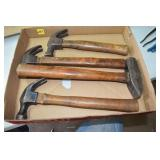 Hammer Assortment, one is Plumb