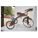 """Old Well Used Tricycle, 22""""T"""