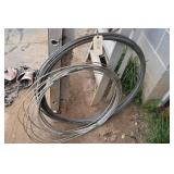 2 Rolls? Wire Rope or cable 1/4 & 5/16 I believe