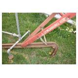 Lynchburg,Set of Plow Handles, Wheelbarrow chassis