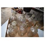 Vinegar or Wine, 5 1/2 Gallon Jugs,had metal caps