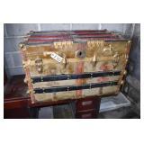 """Vintage Steamer Trunk, 20 x 34 x 22""""T"""