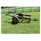 Farm Trailer Chassis,Tactor hitch