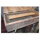 Country Carpenters Box, 32 x 12 x 11,Coffin Style