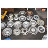 Hub cap Assortment, 1 Corvair, Chevy, Ford,Buick