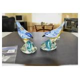 Stangl Pottery Birds, Bluebirds, Marked
