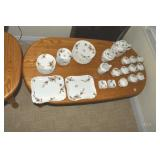 Limoges, 10 place, Tea Set, Haviland Lomoges
