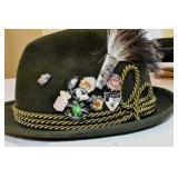 Hat,Swiss Alps, Pins