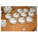 Haviland 10 place, Tea Set, Haviland Limoges