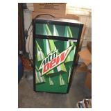 """Cooler,Store,Works,Mtn. Dew 14x18 x 38""""T"""