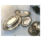 Silver Plate Assortment, nice group
