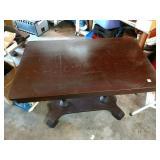 Table,Library, Empire,Mahogany,Writing Desk