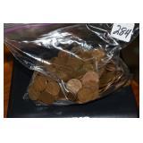 Wheat Pennies, All 50s, 2 lb. 5.6 oz.