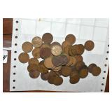 Wheat Pennies, 1911-39, 72 in all