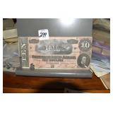 Confederate Currency, $10, G