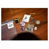 Assortment,Political, Pinback Other cool pieces