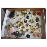 Matched Pairs of Earrings, 30 pair
