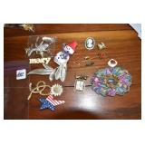 Vintage Brooches, pins, 20+