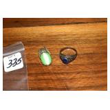 Sterling, Antique Ring & Pendant