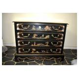 Chest, 4 Drawer,Chinoserie, Grand Piano