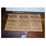 Pierces Diaries,accounts, 1892-97