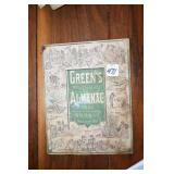 Greens Almanac, 1881,Apparently Boschers German