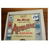 Almanac, 1937, Dr. Miles Remedies