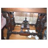 Table,Center,Mid 1800s,Walnut, Marble