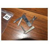 Pocket knives, Sunday, one Victorinox Swiss