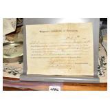 Civil War, Surgeons Exemption Confederate