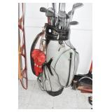 Golf Club Set, Large Bag, Mostly Spaulding