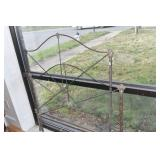 Antique Iron Twin Bed,Sides,slats