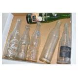 Vintage Soda Bottles,