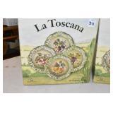 LaToscana, 2 Boxes of Soup Bowls