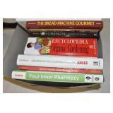 Books Assortment, cooking & other