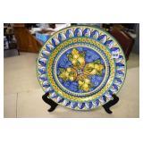 """Decorative Plates, Italy -13"""", Pottery Barn Tray"""