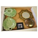 Leaf Dishes,7, Portugal, Peru items