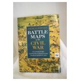 Battle Maps of the Civil War,1992
