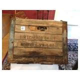 Crate,Milk, 12 quart,Birtcherds,Norfolk,1942